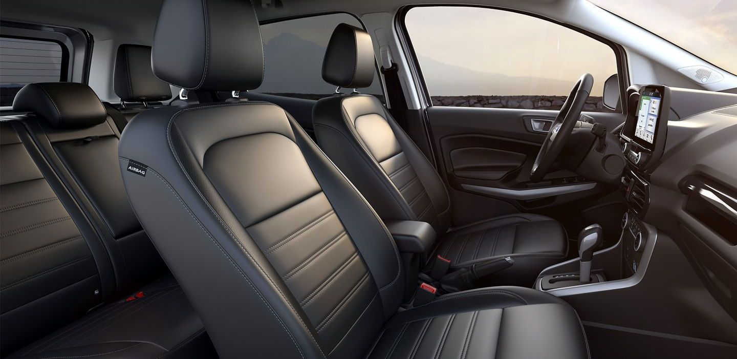 The Secure Interior of the EcoSport