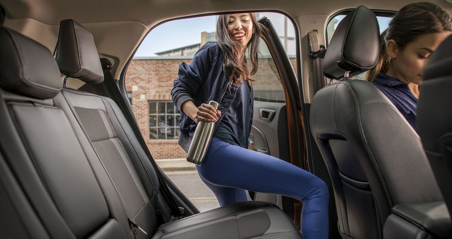 Plenty of Room for Friends in the EcoSport!