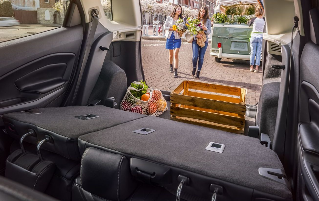 Plentiful Storage Space in the EcoSport!
