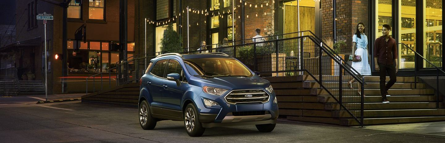 2019 Ford EcoSport Leasing near Mesquite, TX