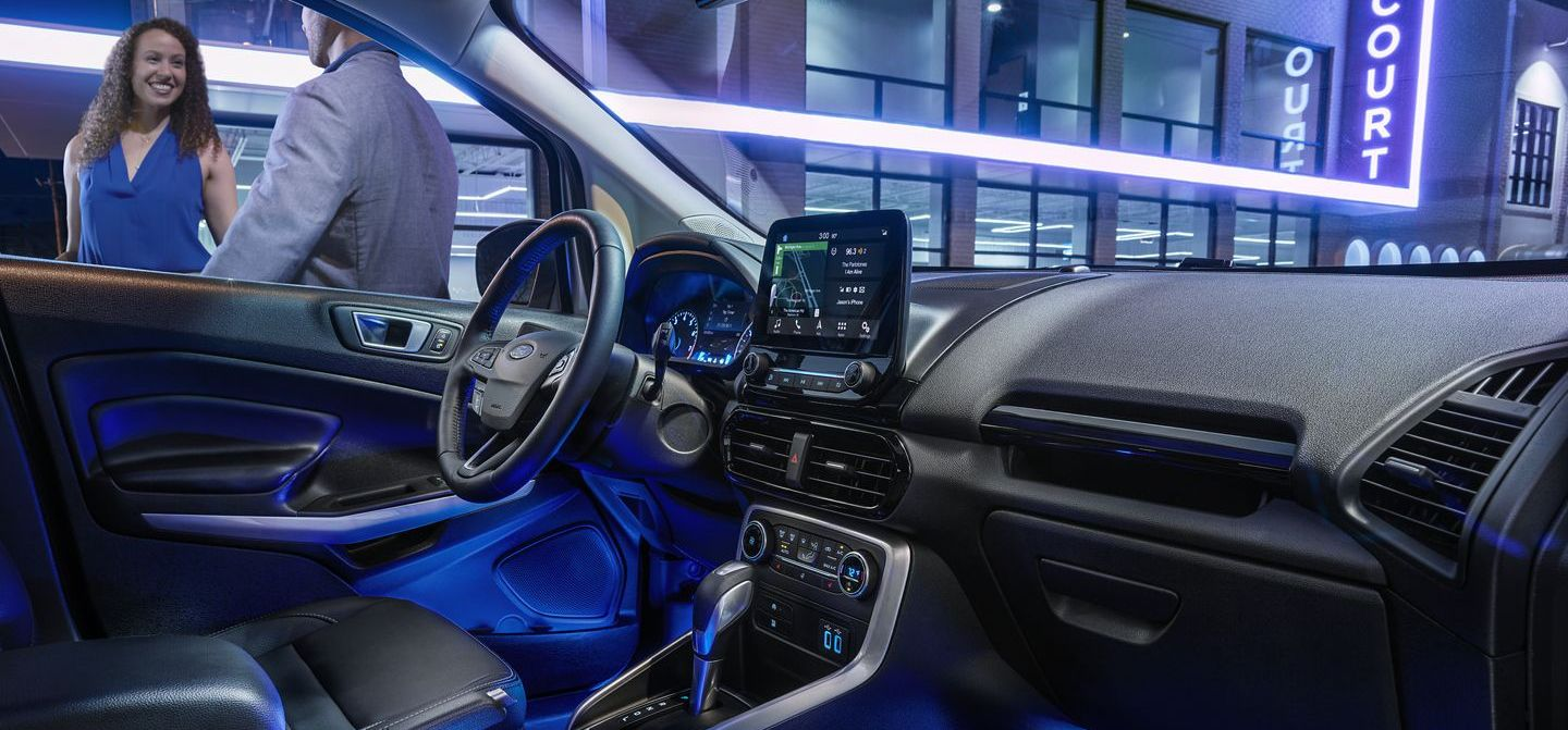 Ford EcoSport Ambient Lighting