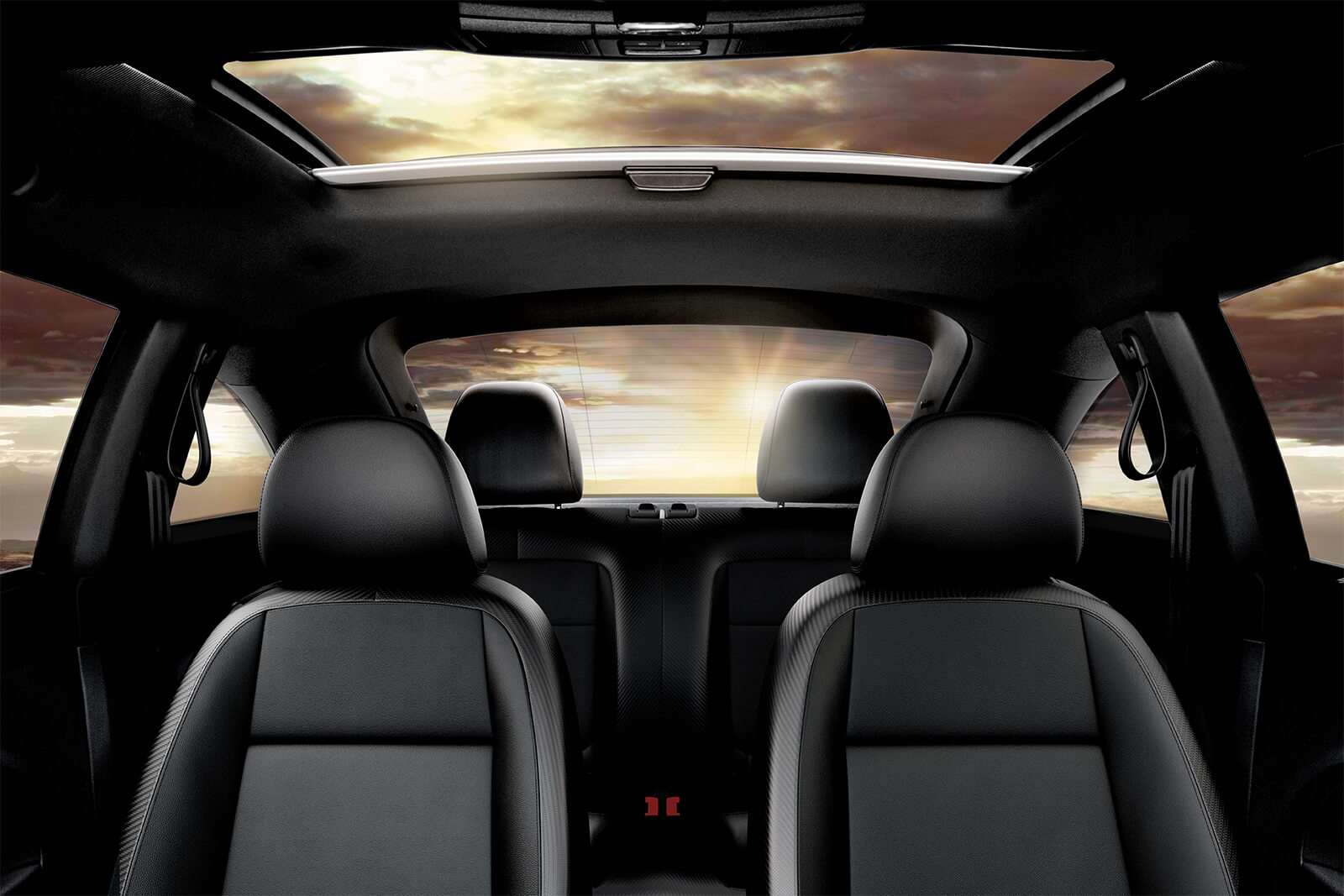Spacious Interior of the 2019 Beetle
