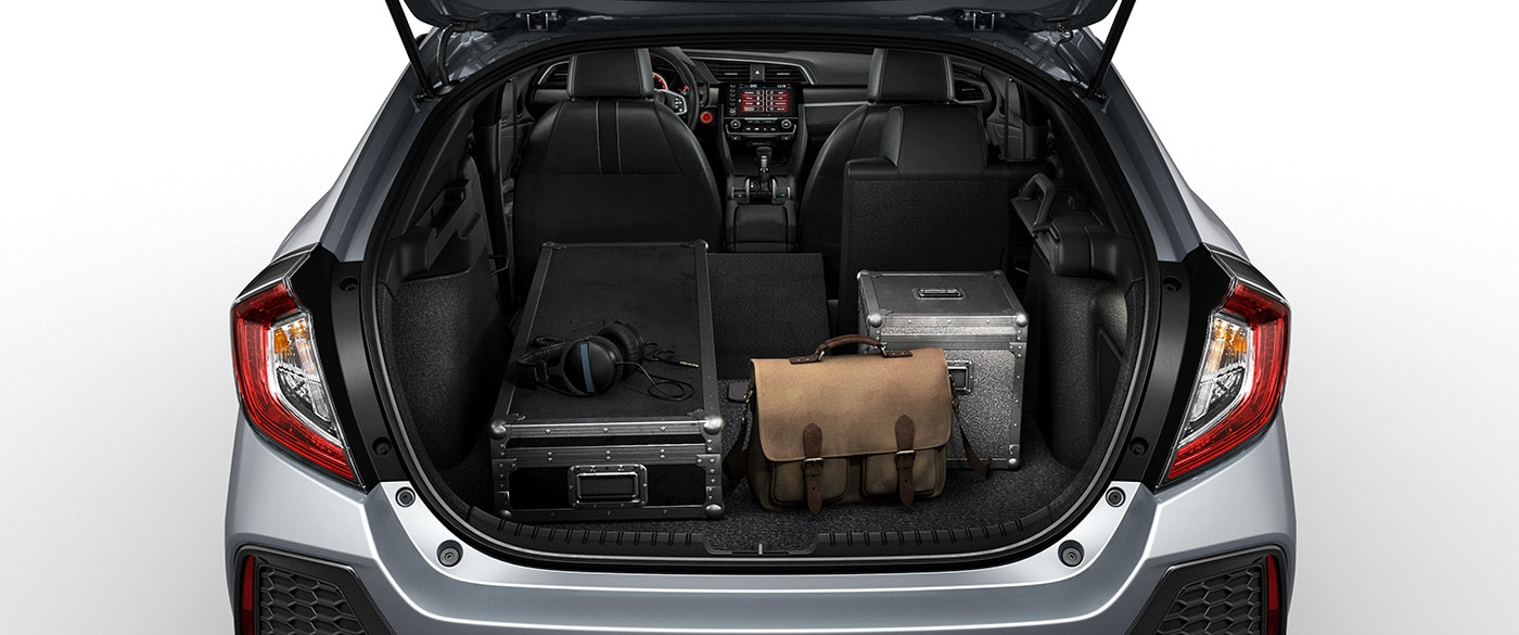 Cargo Space in the 2019 Civic Hatchback