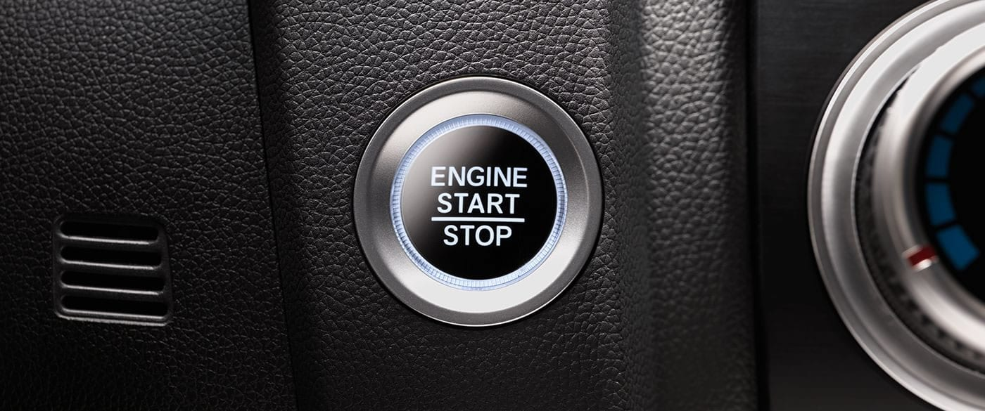 Push Button Start in the 2019 Honda Fit