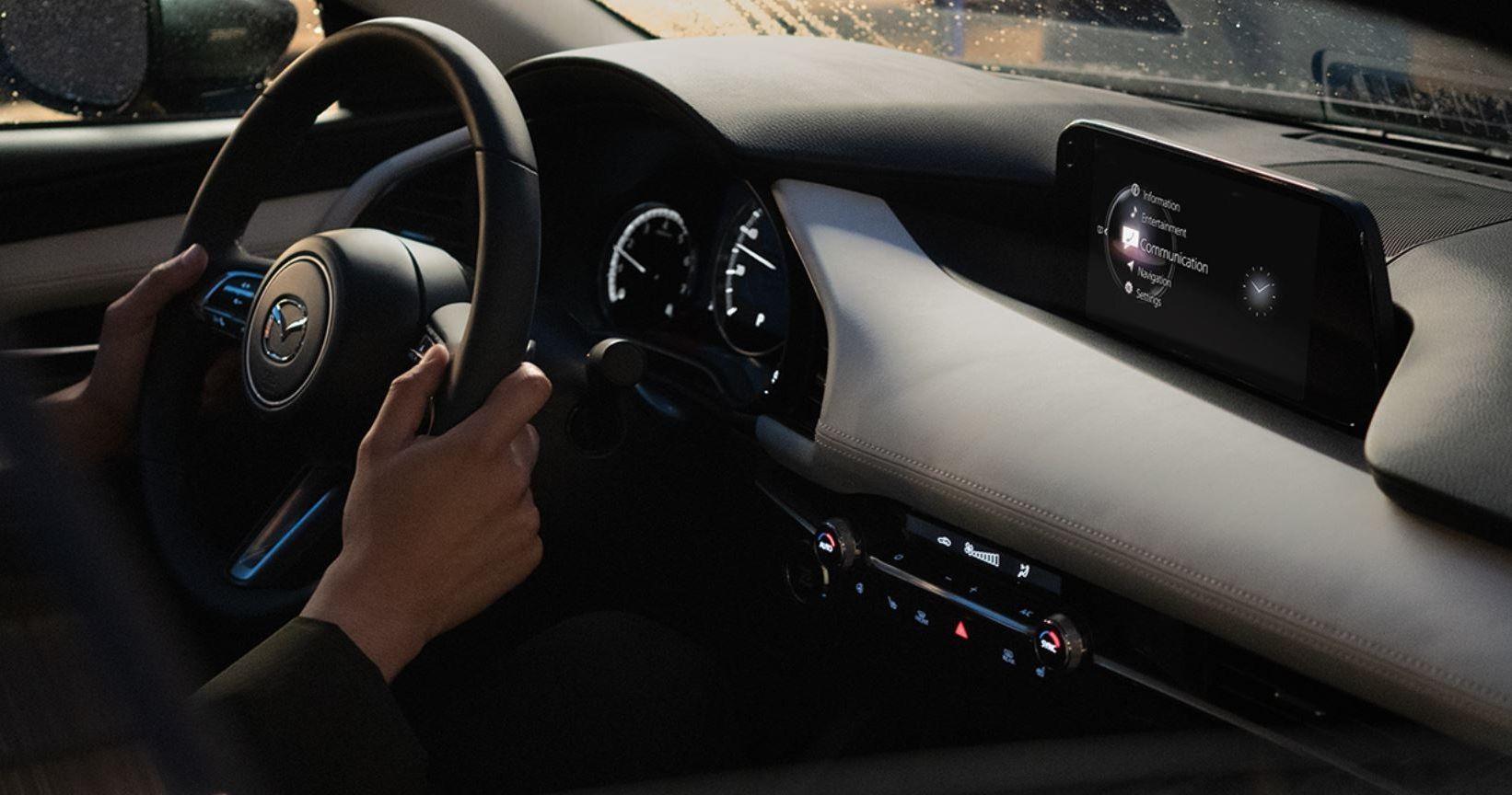 2019 Mazda3 Sedan Dashboard