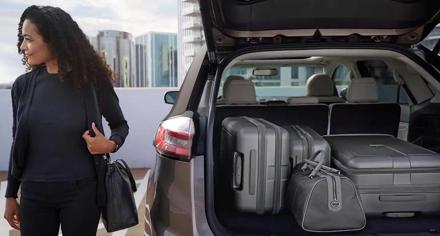 Load up the 2019 Edge with Cargo!