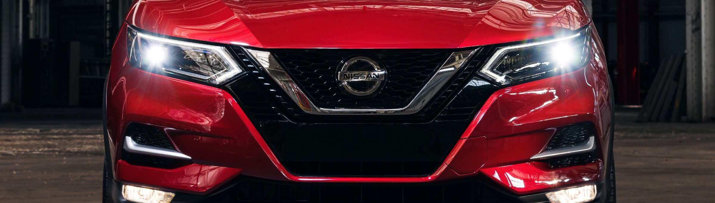 The 2020 Rogue Sport's Bold Grille