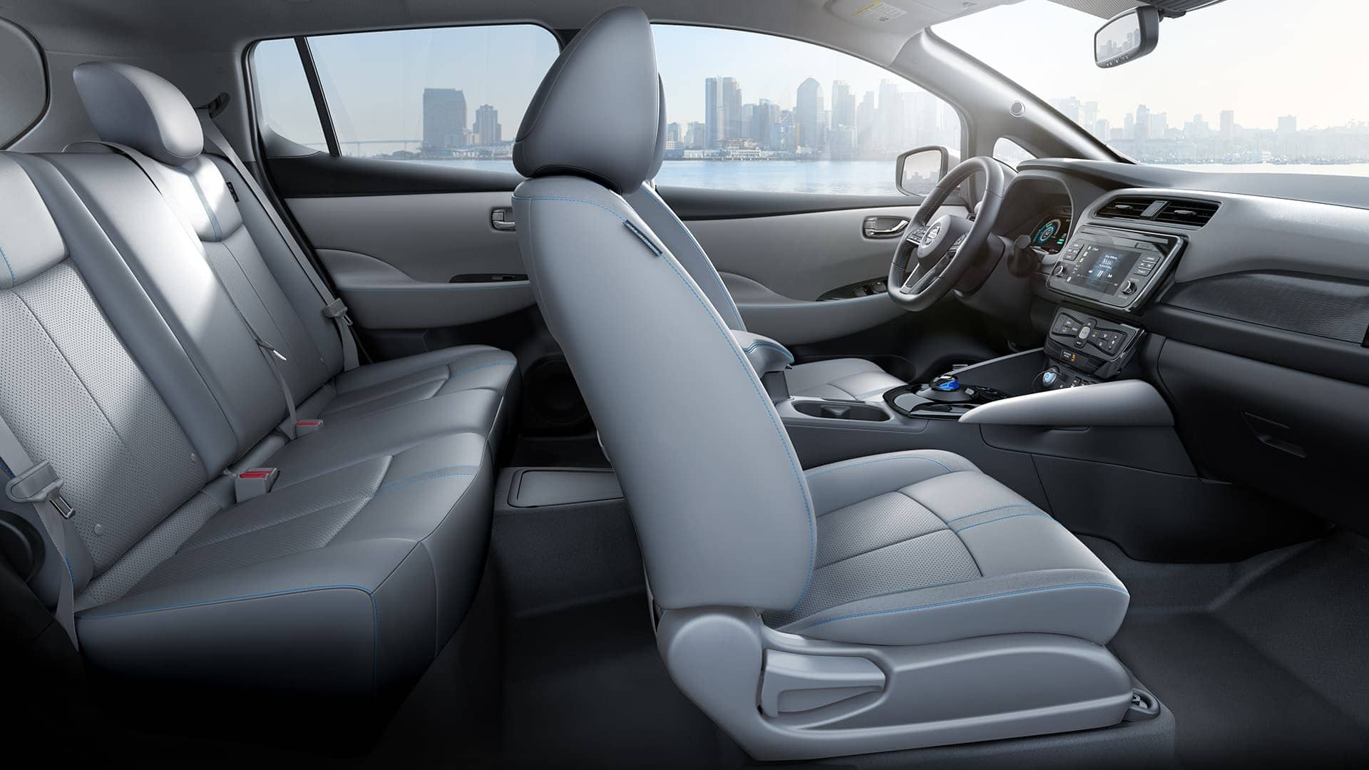 2019 Nissan LEAF Plus Interior