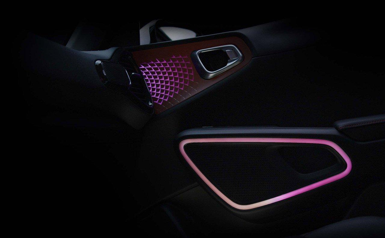 Speaker Lights on the 2020 Kia Soul