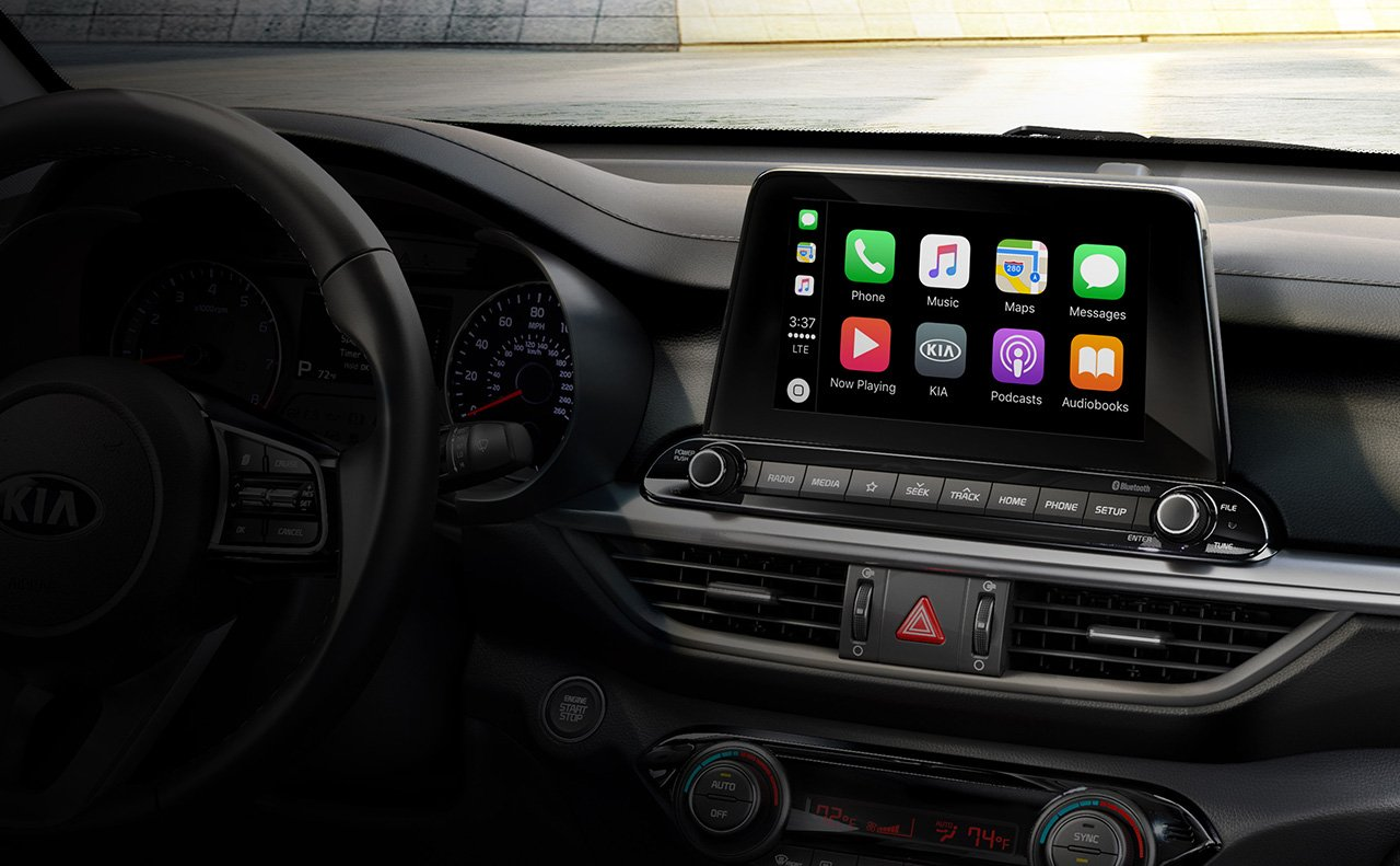 Touchscreen Display in the 2019 Forte
