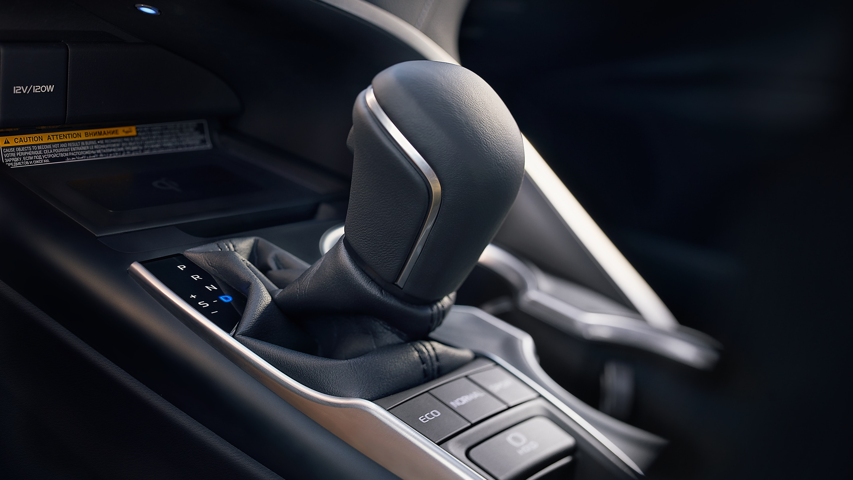 Shift Lever in the 2019 Camry