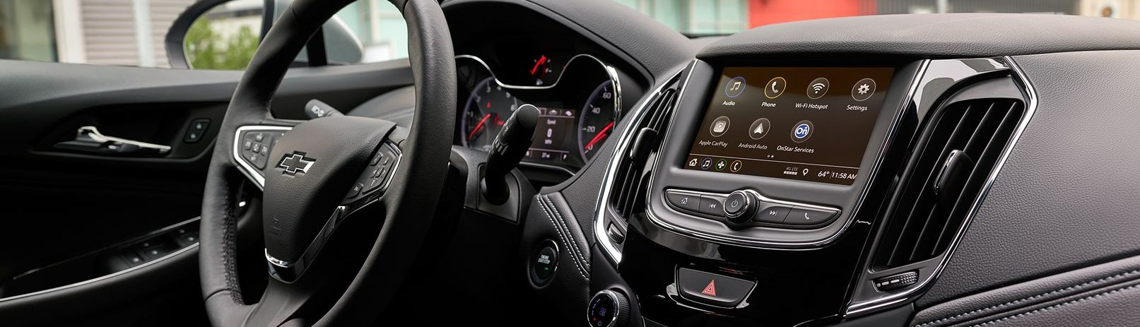 Touchscreen Display in the 2019 Cruze