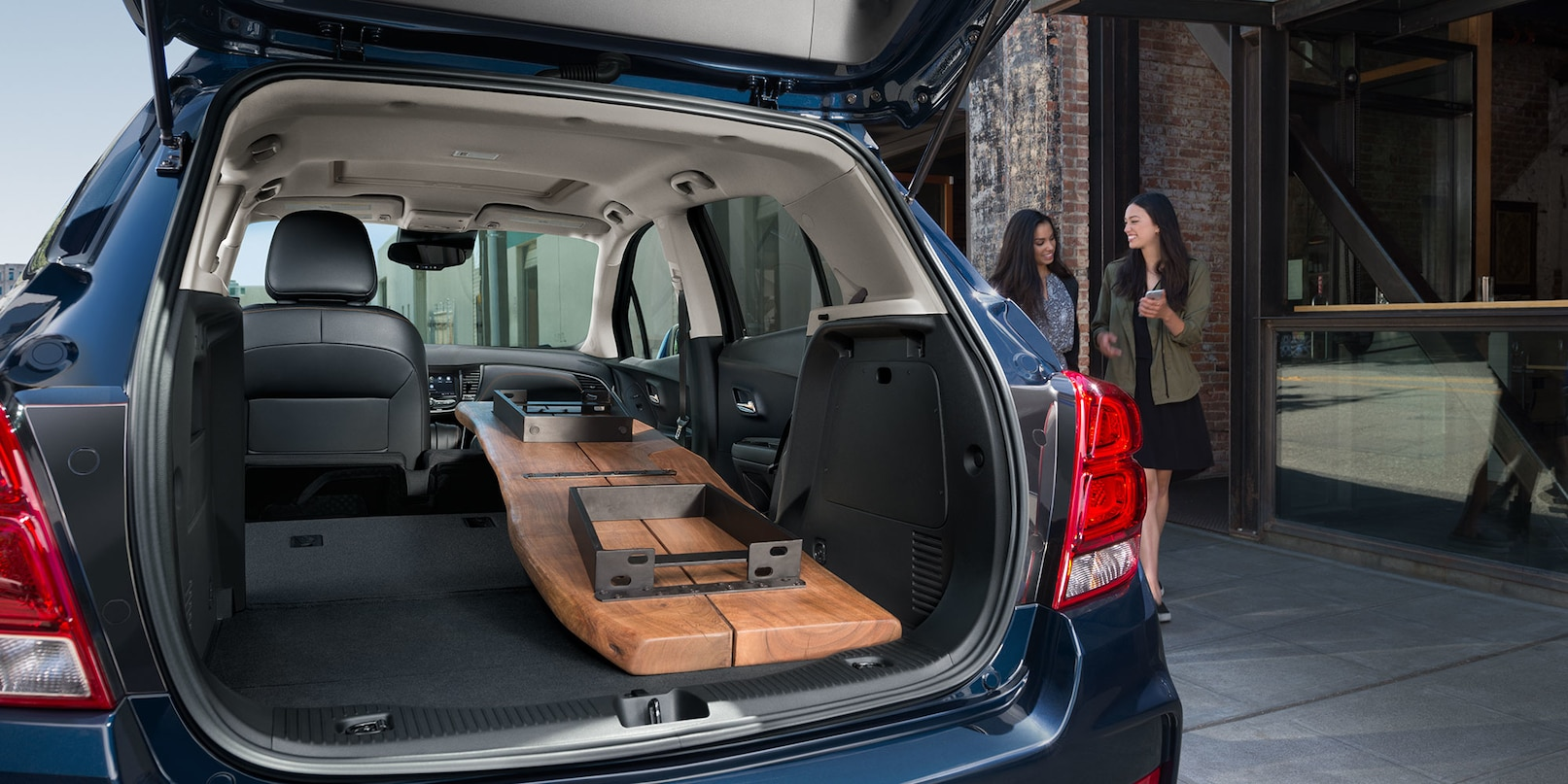 Cargo Space in the 2019 Trax