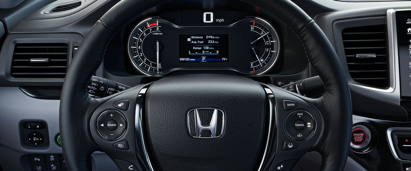 2019 Ridgeline Steering Wheel