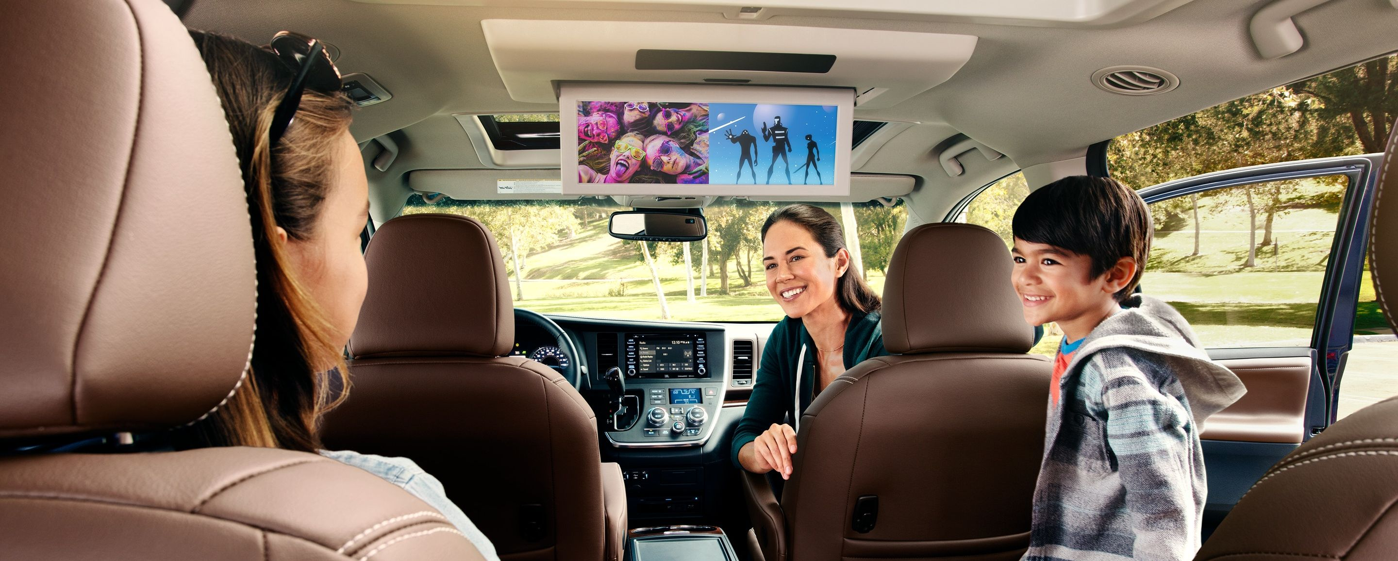 The Secure Cabin of the 2020 Sienna