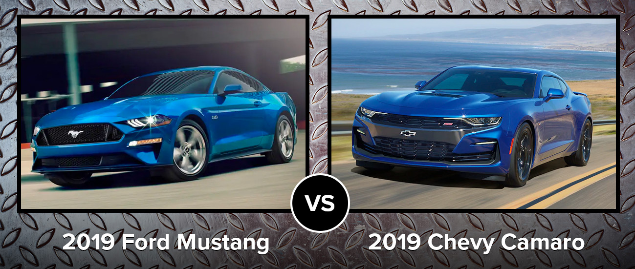 2019 Ford Mustang vs 2019 Chevy Camaro Chicago IL
