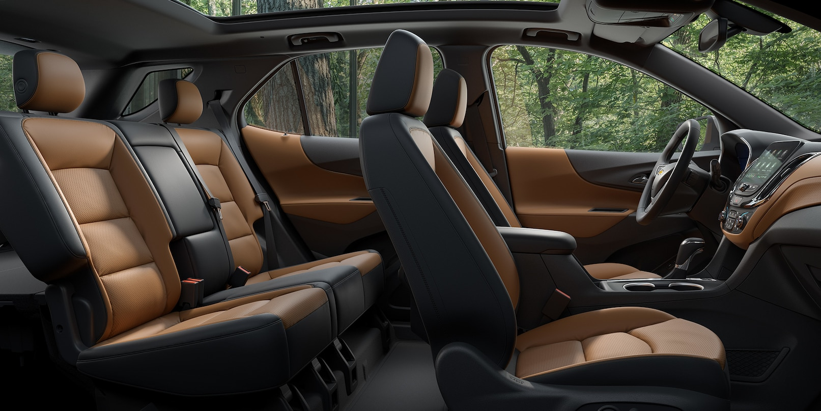 Spacious Cabin of the 2019 Equinox