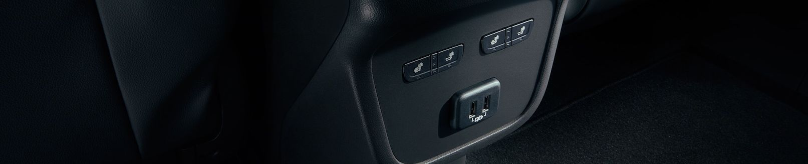 Power Options in the Back Row of the 2019 Equinox