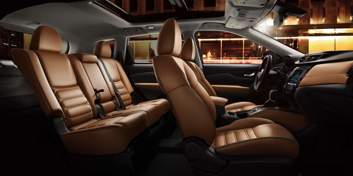Spacious Cabin of the 2019 Nissan Rogue