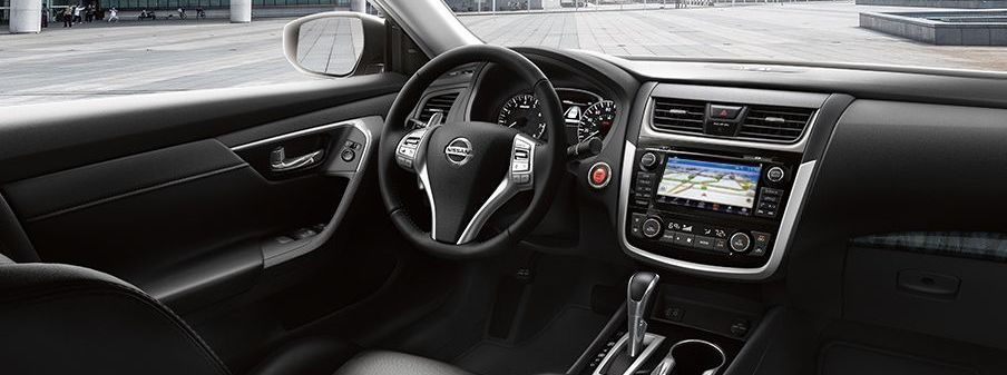 The Stylish Interior of the Altima