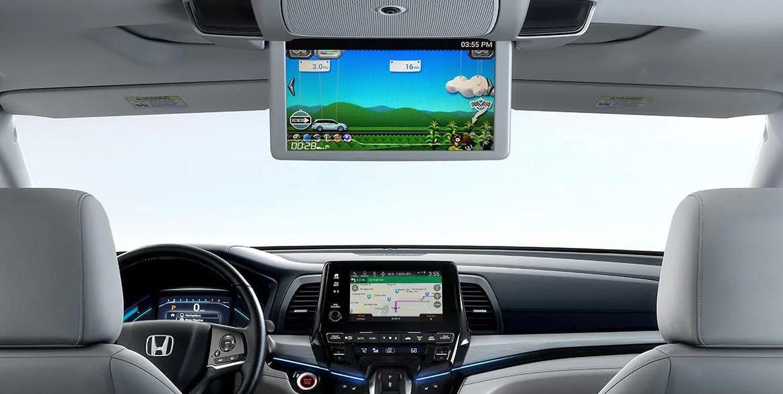 Sistema de entretenimiento disponible en la Honda Odyssey 2019