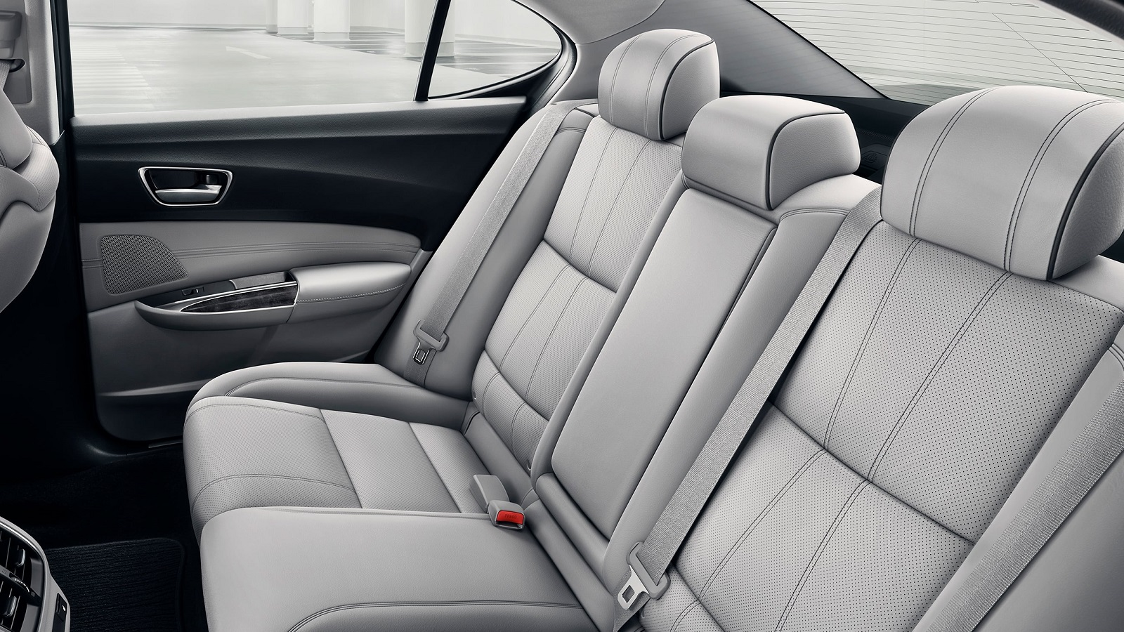 2020 Acura TLX Second Row