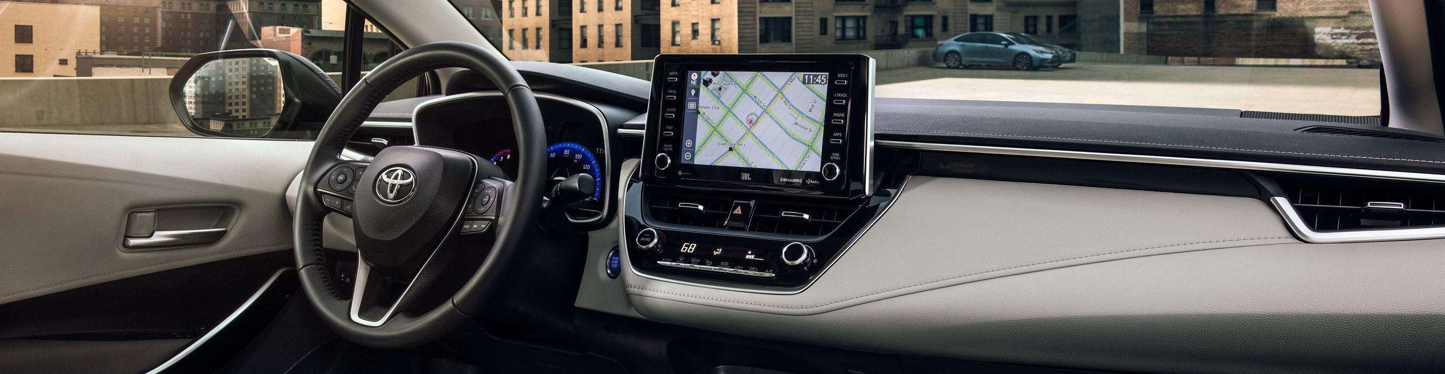 2020 Toyota Corolla Dashboard