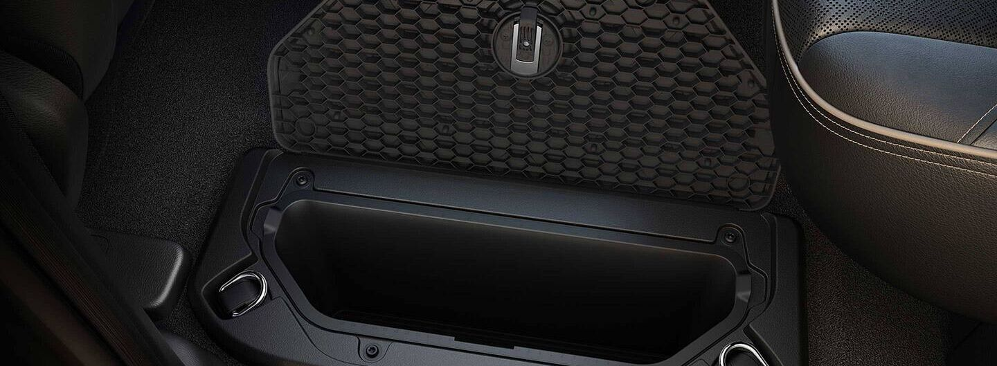 2019 Ram 1500 Storage Space