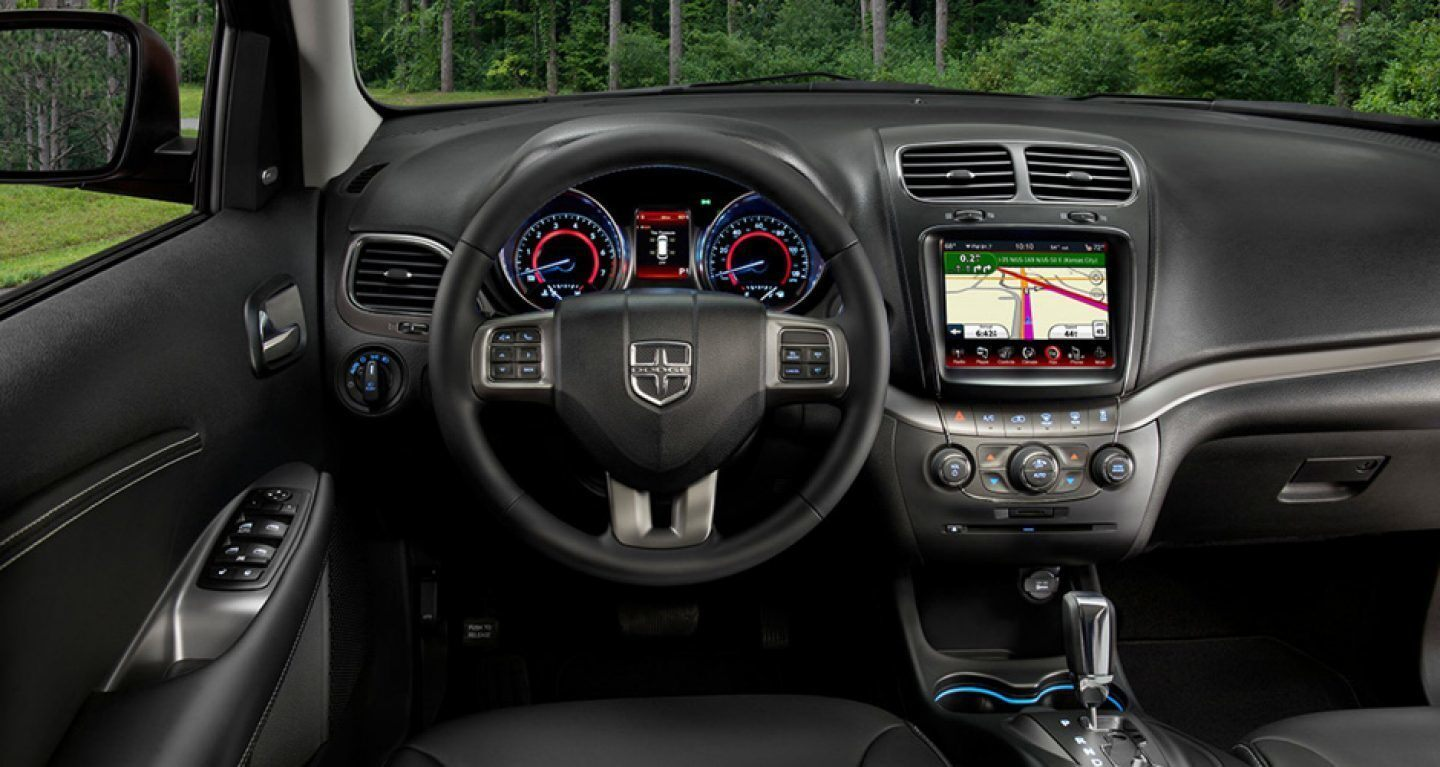 2019 Dodge Journey Dashboard