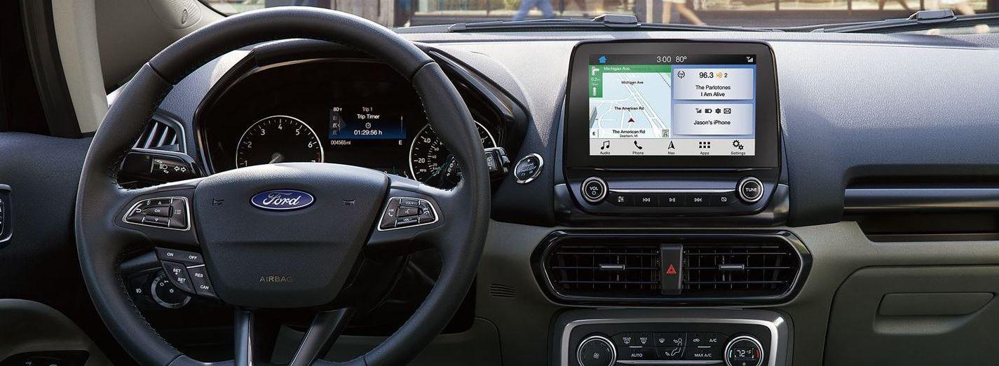 2019 Ford EcoSport Dashboard