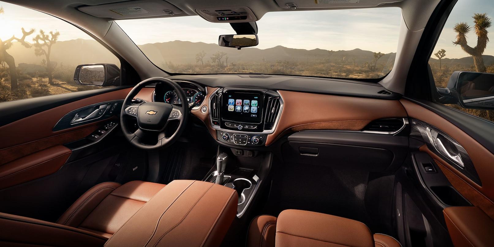 2019 Chevrolet Traverse Center Console