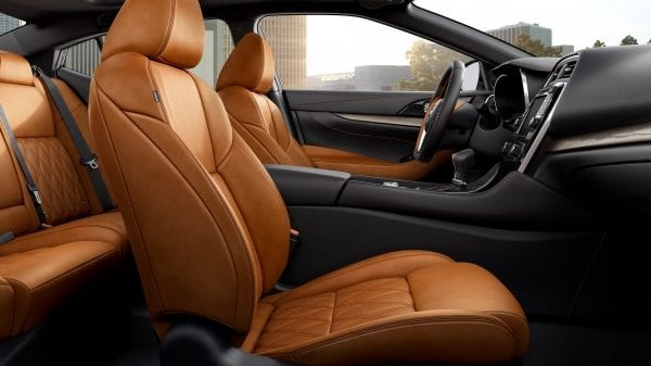 Premium Seating in the 2019 Nissan Maxima