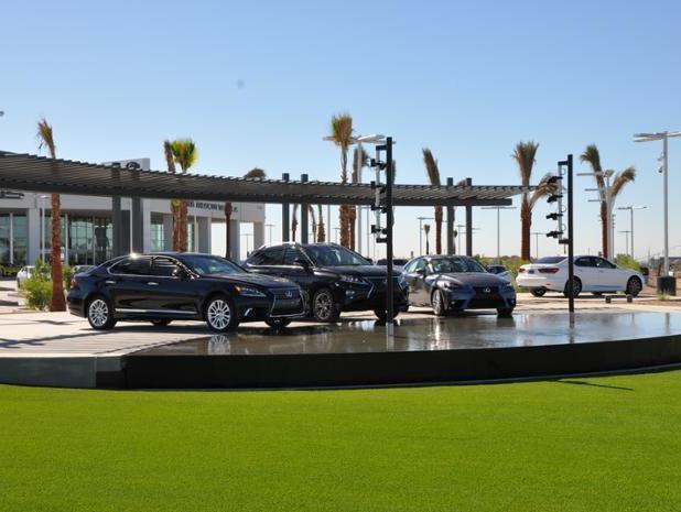 Bell Lexus Dealership Exterior