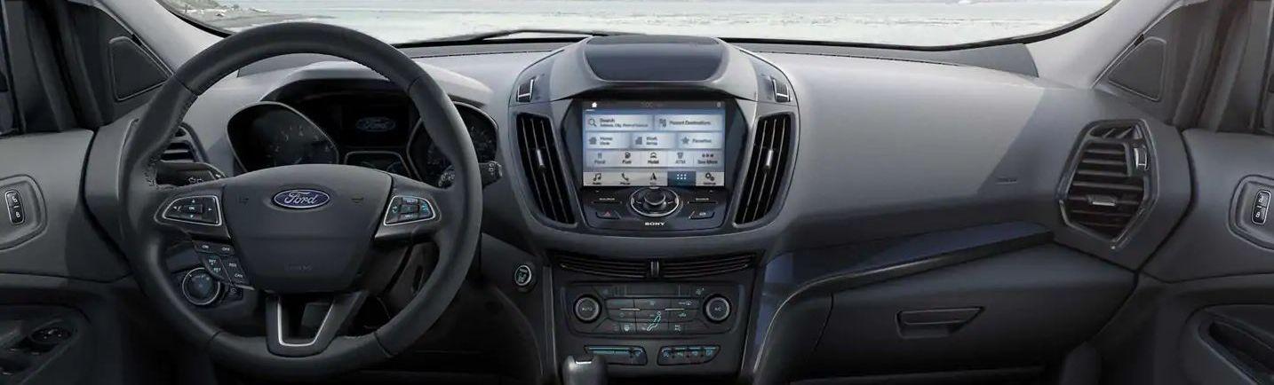 2019 Ford Escape Dashboard
