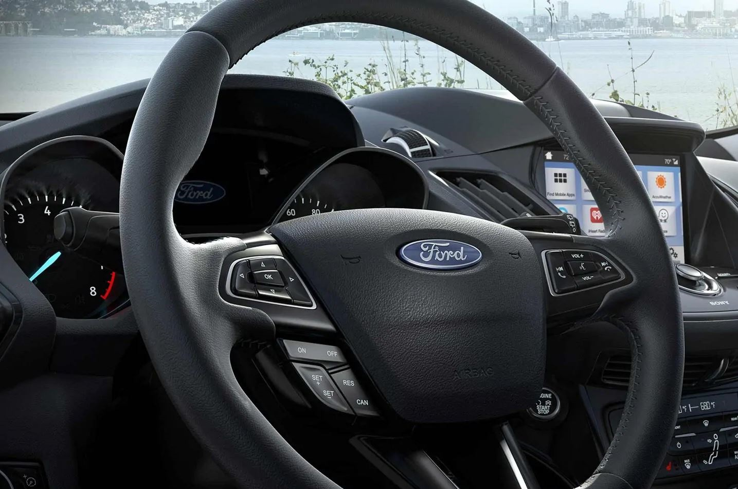 2019 Ford Escape's Steering Wheel