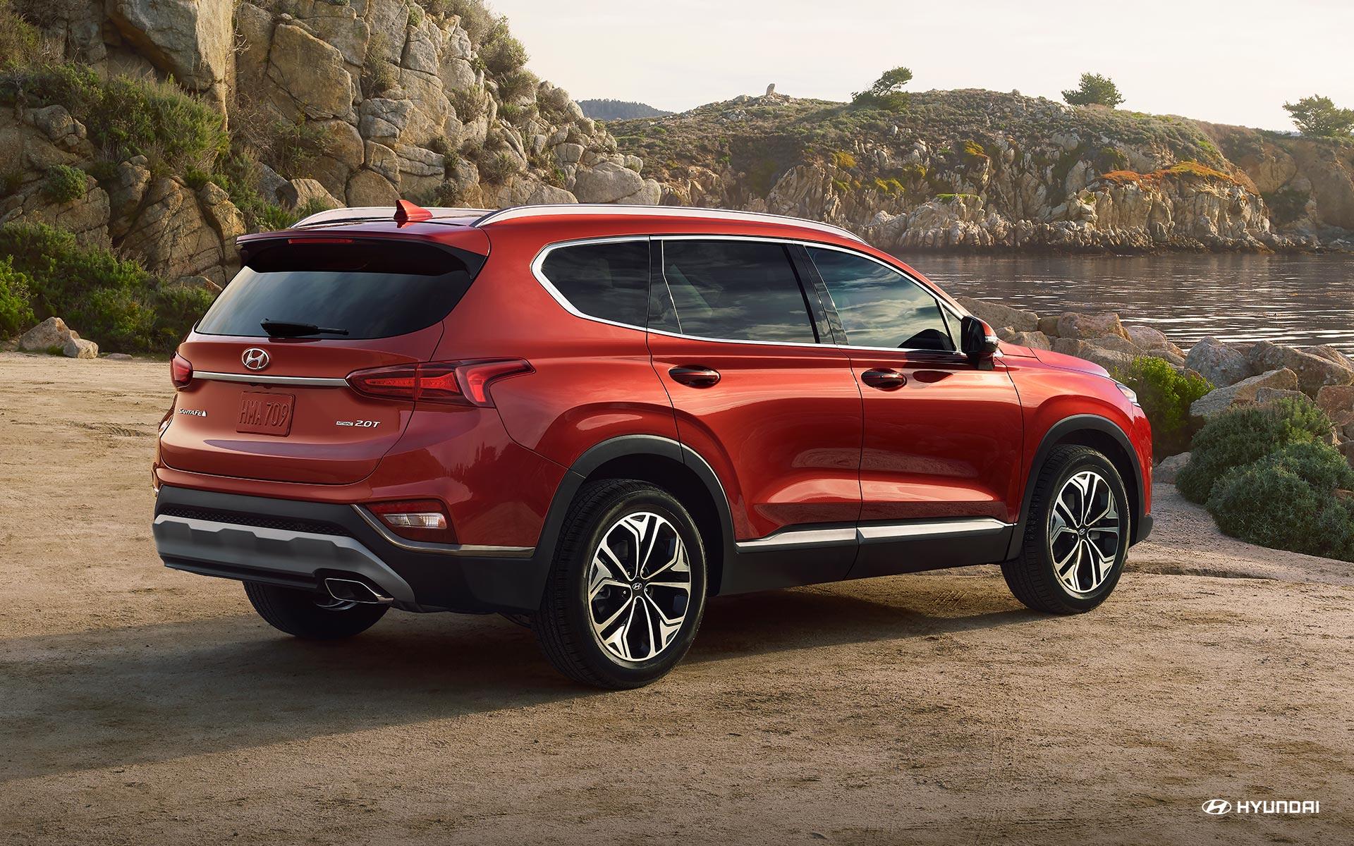 El Hyundai Santa Fe 2019 tiene un aspecto exterior impresionante