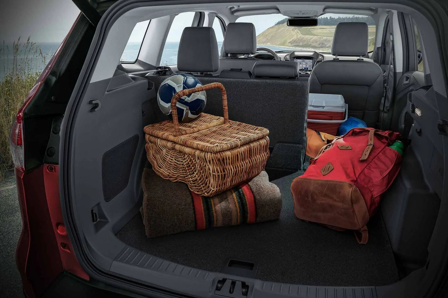 2019 Ford Escape's Spacious Cargo Area