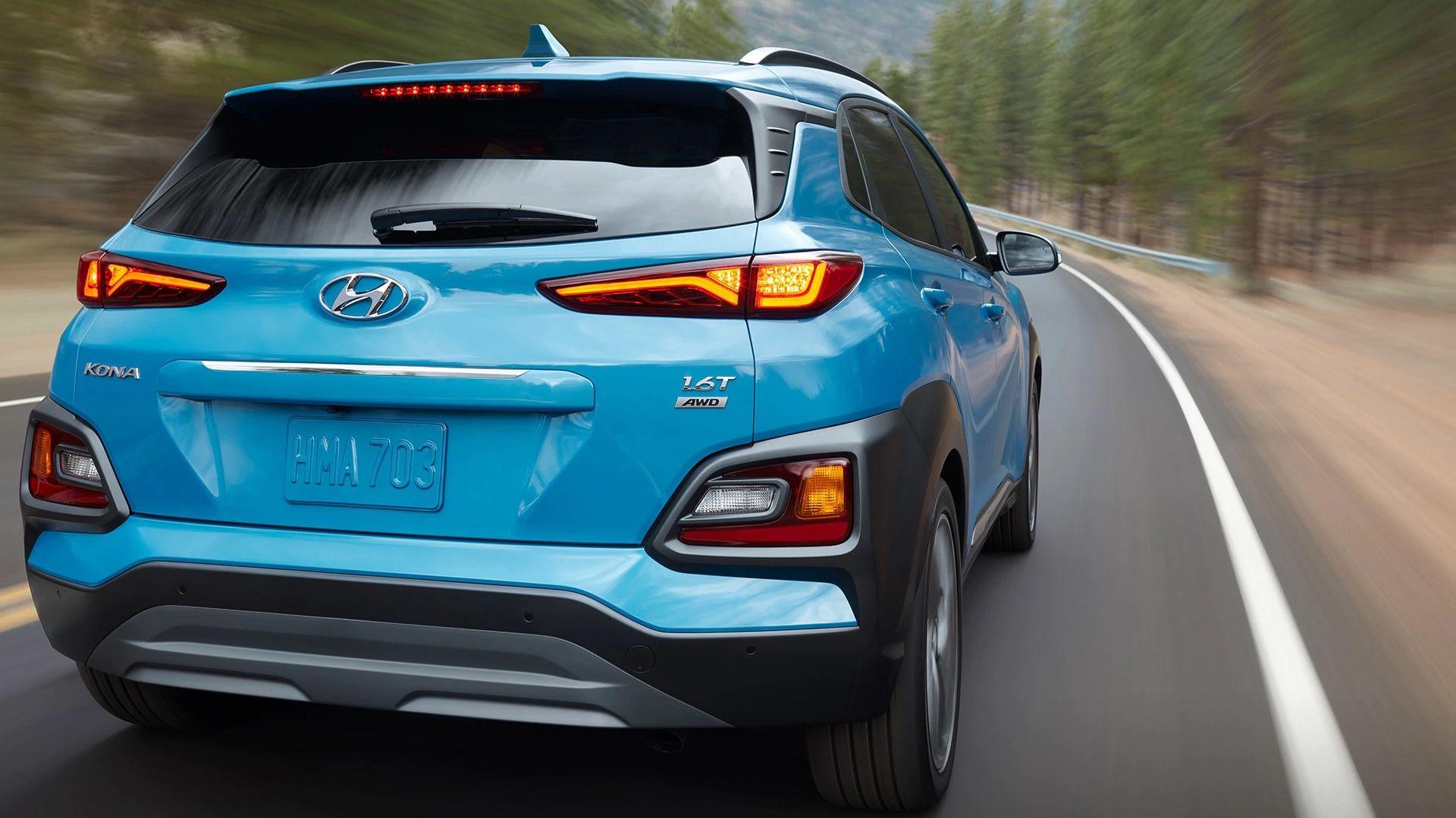 La Hyundai Kona 2019 tiene tracción en las cuatro ruedas disponible