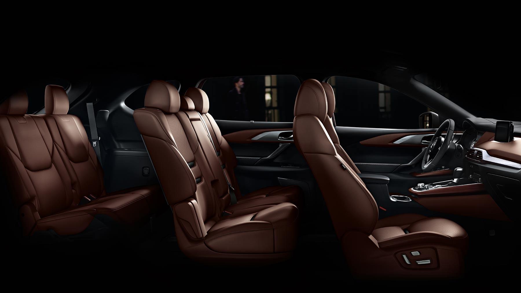 Commodious Interior of the 2019 Mazda CX-9
