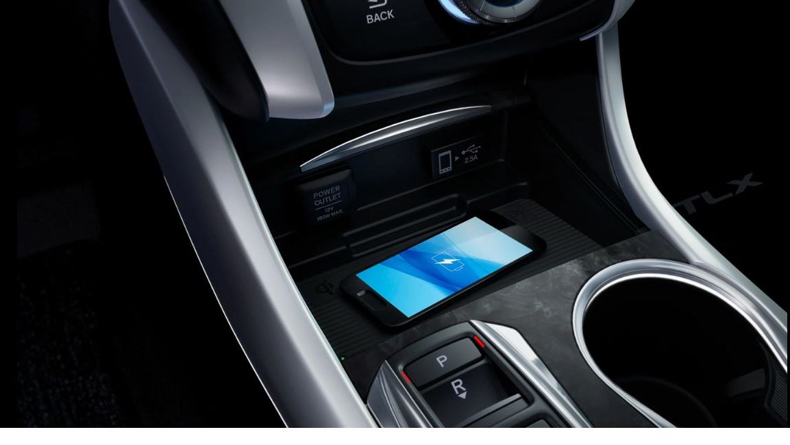 Charge Your Device Quickly in the TLX!
