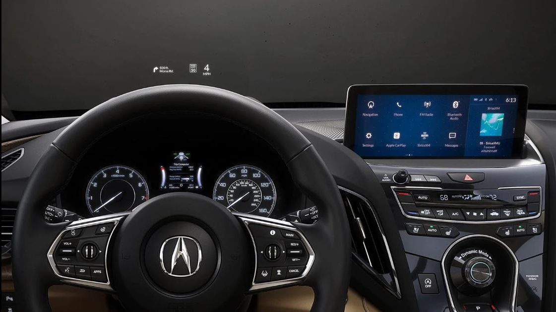 Interior of the 2020 Acura RDX