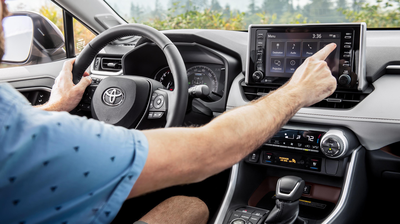 2019 Toyota RAV4 Dashboard