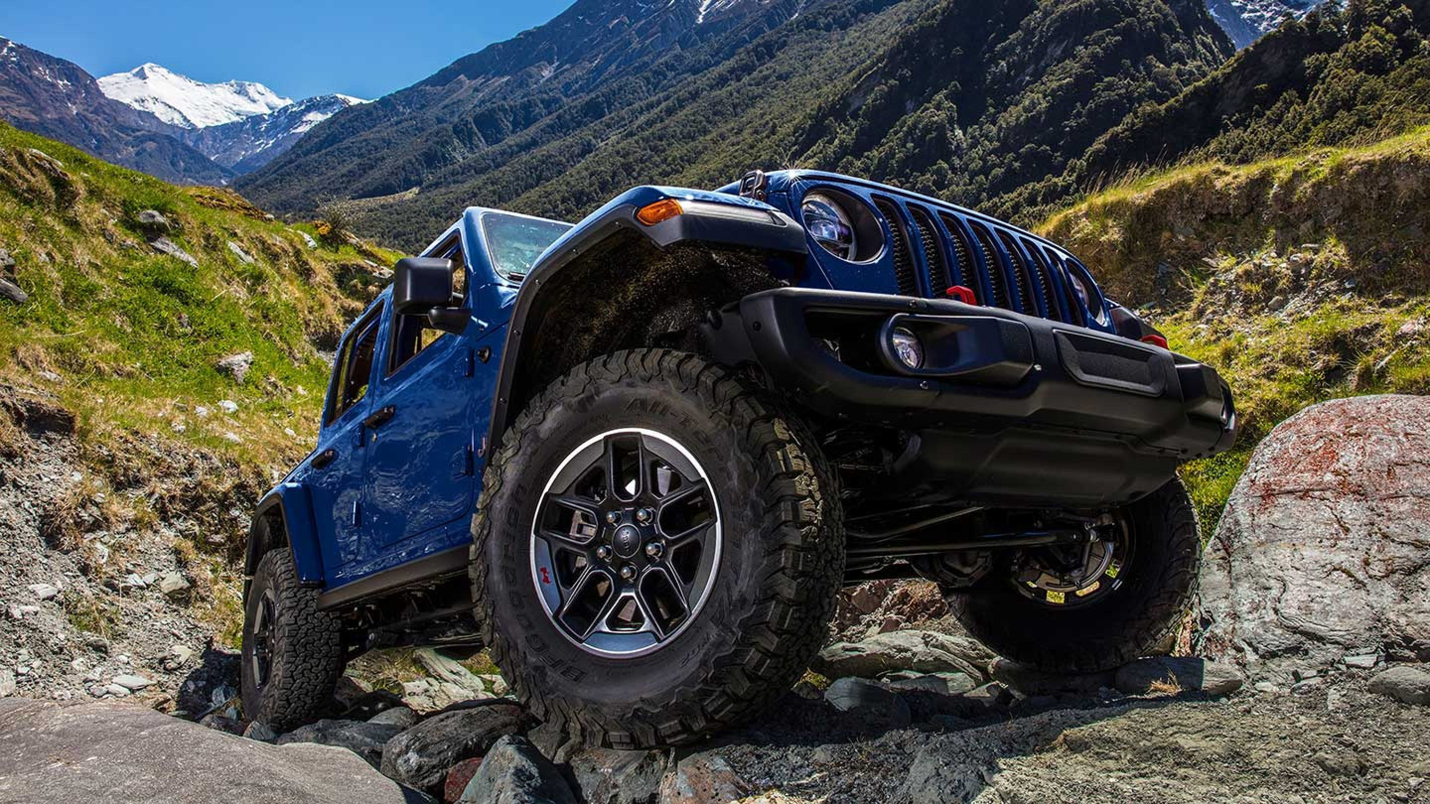 feb4f525e3 The folks on staff at Autoblog spotted a bright red Jeep Wrangler Unlimited  lately seen here with one very important letter on the tailgate: the 3.0 D  ...