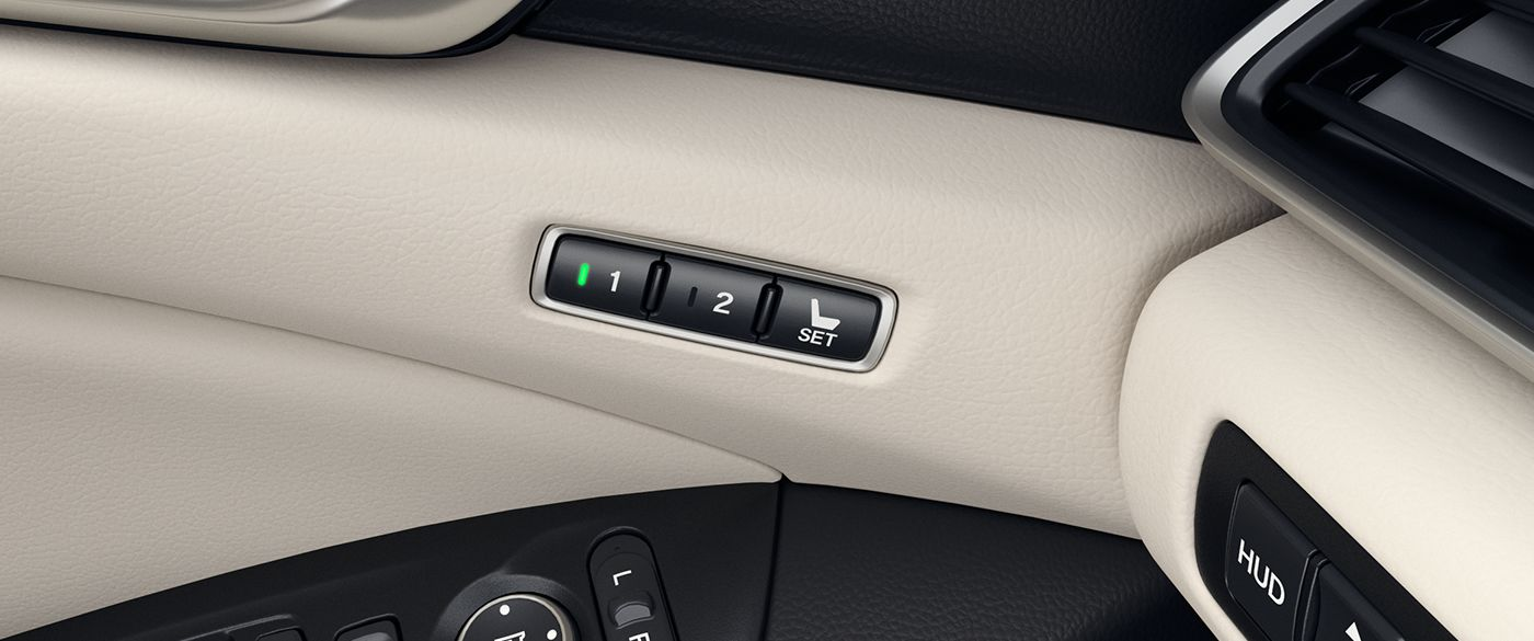 Customize Your Comfort in the 2019 Accord