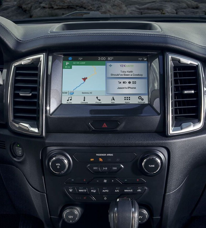 2019 Ford Ranger Touchscreen Display