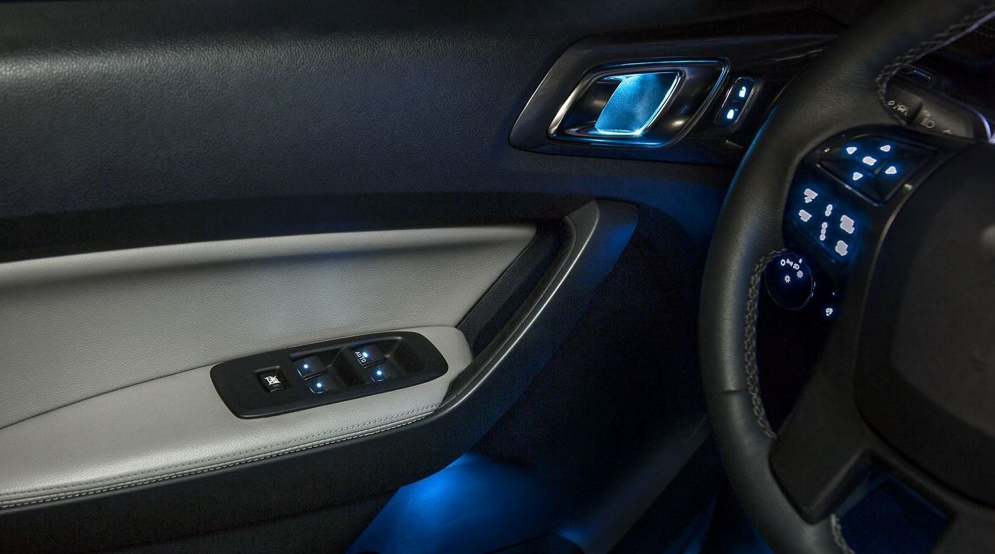 2019 Ford Ranger Ambient Lighting