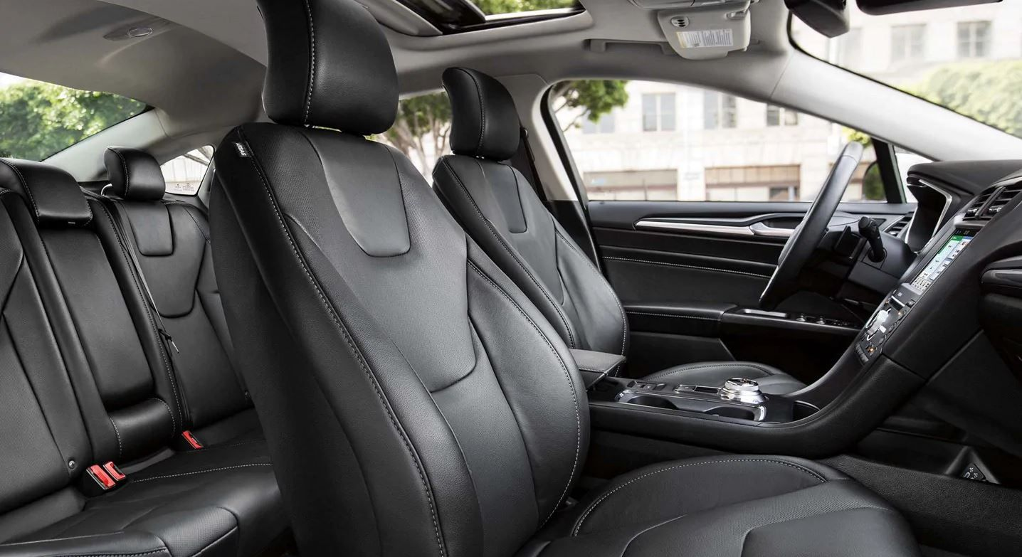 2019 Ford Fusion's Spacious Cabin