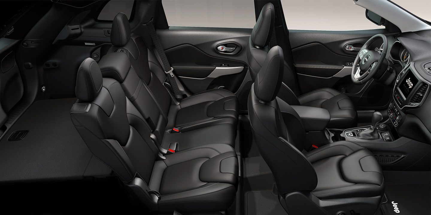 2019 Jeep Cherokee's Spacious Cabin