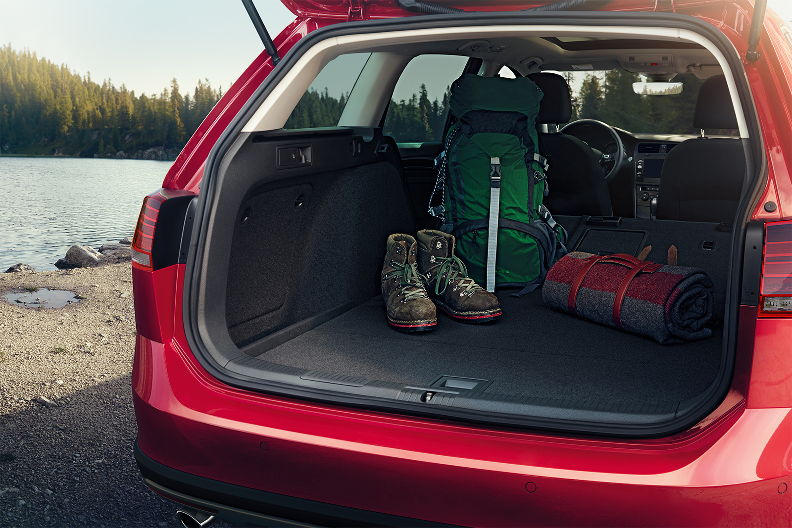Cargo Space in the 2019 Golf Alltrack
