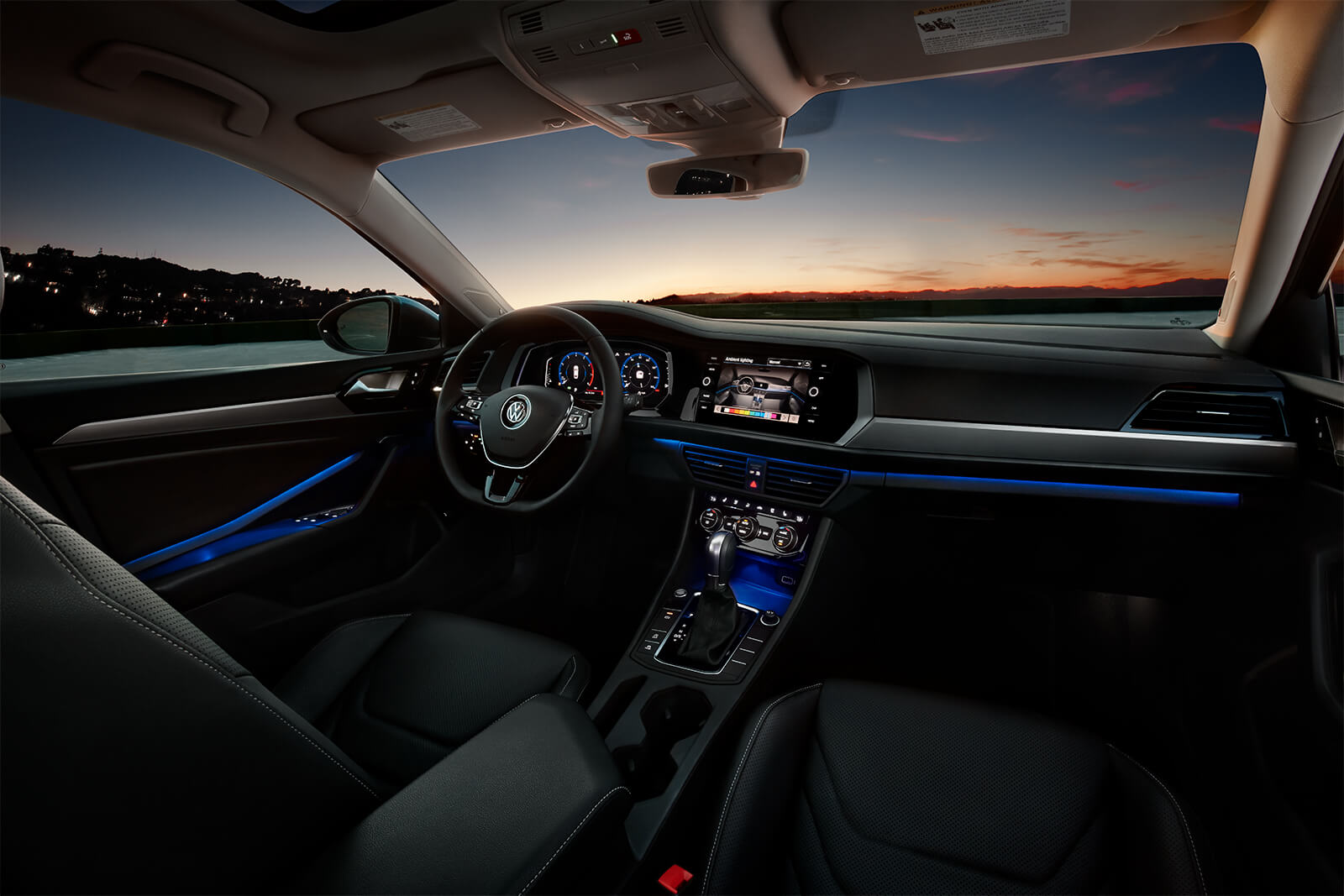 Interior of the 2019 Volkswagen Jetta